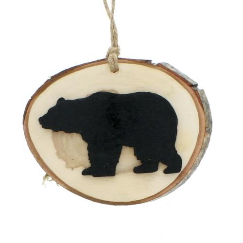 Black Bear Ornament - Christmas Ornaments, Great Smoky Mountains Theme