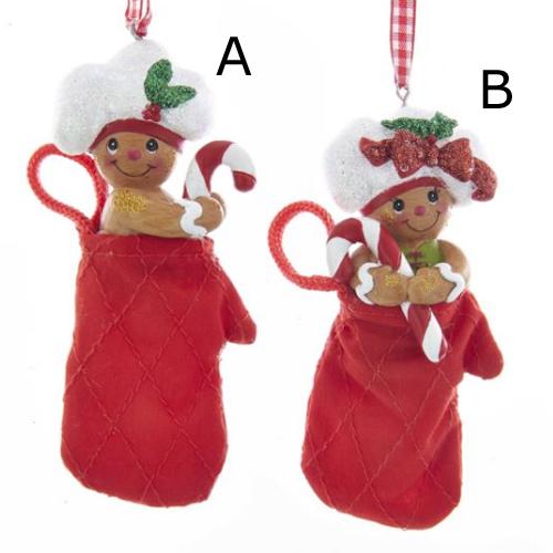 gingerbread oven mitt ornament - Gingerbread Christmas Ornaments